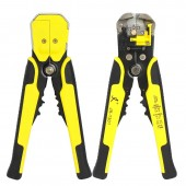 1 Pcs Automatic Cable Wire Stripper Self Adjusting Crimper Terminal Tool AWG24-10(0.2-6.0MM2)