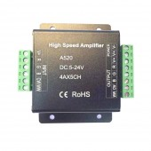 High Speed Led Amplifier A318 A420 A520 For RGB RGBW RGB+CCT Led strip Light DC5-24V