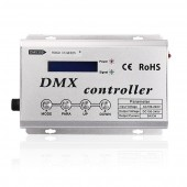 AC100-240V 660W/1320W 3 Channels *2A High Voltage DMX LED Controller with LCD Display for High Voltage RGB LED Strip Light Lamp