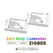 Zigbee Controller Compatible With Echo Plus Smartthings Voice Controlled 12-24V Work With Zigbee Hub