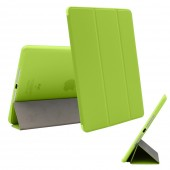 Case For iPad 2 / iPad 3 / iPad 4 Case Ultra Slim PU Leather+Silicone Soft Back Smart Cover for Apple iPad 4 Case Trifold Stand