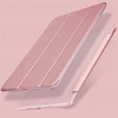 For Apple iPad Mini 4 3 2 1 Case,Slim PU Leather Translucent PC Hard Back Smart Cover for iPad Mini 4 Case Auto Sleep