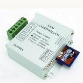 Mini SD Card RGB Pixel Controller WS2811 WS2812B LPD6803 Full Color Controller DC 12-24V / DC 5V