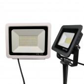 Led Lighting Outdoor IP65 50W 10W Led Waterproof Garden Light LED Lawn Light Lamp Spike Light LED Floodlight