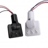 Ultrathin LED Flood Light PIR Motion Sensor Detector Waterproof Outdoor85-265V IP65 LED Motion Sensor Adjustable Floodlight