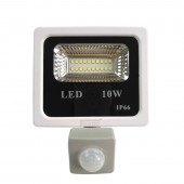 PIR Motion Sensor LED Floodlight 10W Floodlight LED Spotlight Outdoor Lighting AC220V Garden Plaza Outdoor Safety
