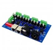 12CH Easy DMX512 Controller Decoder WS-DMX-12CH 4 Groups
