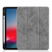 For iPad Pro 12.9 Case with Pencil Holder 2018 2017 2015 PU Leather TPU Soft Cover for iPad Pro 12.9 2018 Case Wireless Charge