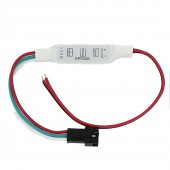 DC5 12V 24V 3Key Mini LED Pixel Controller For WS2811 TM1809 SK6812 APA102 WS2812B LED Pixel Strip Module