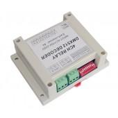 AC110-220V 4CH Controller Decoder RGB LED Strip Lights DMX-RELAY-4CH-220