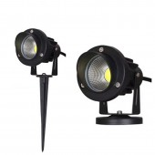 5W 10W Outdoor Garden Landscape Light 220V 110V 12V LED Lawn Lamp COB Waterproof Lighting Led Light Garden Path Spotlights
