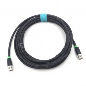 5M HD SDI Video coaxial Cable, 75 coaxial cable, 75 ohm coaxial cable CANARE LV-61S 75 OHM blue CABLE