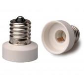 10pcs E17 to E11 Lamp Base Conversion Socket Resistance PC E17 Socket