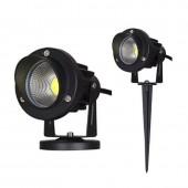 New Style COB Garden Lawn Lamp Light 220V 110V 12V Outdoor LED Spike Light 5W3W Path Landscape Waterproof Spot Bulbs Garden Lamp