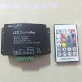 4CH 24 Key RF Remote RGBW Music Controller Dream Color LED Music Rgbw Controller DC12-24V For RGBW LED Strip