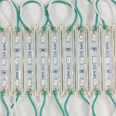 100pcs 5730 LED Module DC12V 3Leds Waterproof Outdoor Light Backlight For Billboard White, Red, Blue, Green High Lumens