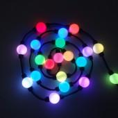 100pcs DC12V/DC24V 35mm/50mm 360 Degree Emitting Magic Ball LED Pixel Module Double Side 5050 RGB + WS2811 IC Christmas Lighting