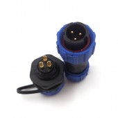 SP13 2Pins 3pin 4pin 5pin 6pin 7pin 9pin Waterproof & Dustproof Aviation Connector,IP68, Plug And Socket,Wire Connector