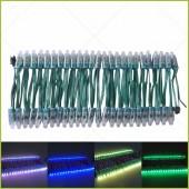 500pcs/lot DC5V 12V 12mm Ws2811 Ic LED Module Black/Green/White/RWB Wires String Christmas Holiday Led Pixel Light Addressable