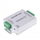 RGBW / RGB Amplifier LED Strip Power Repeater Console Controller DC12 - 24V 24A 4/3 Channel