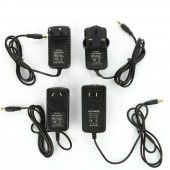 LED Driver Power Supply Adapter Transformer ac 100-240v to DC 12V 1A 2A 12W 24W UK/US/EU/AU Plug