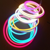 LED Neon Light 220V 120LED/M 2835 Flex Led Neon Strip Power Plug Outdoor Decorative Tape 5M