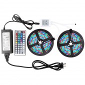 Led Strip Light Kit Waterproof 3528 10M 600leds with Power Supply and Controller