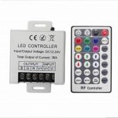28 Keys LED RF RGB Remote Controler DC 12V 30A