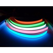 1m 3V Battery Flexible Glow EL Tape Light EL Wire Rope Cable Waterproof LED