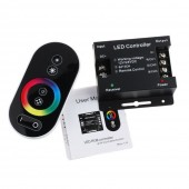 DC 12V Touch Screen Dimmable Remote Wireless RF Controller