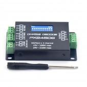 12-24V 3AX3CH DMX512 Decoder Driver RGB Amplifier Controller