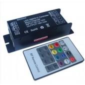 LED DMX512 Controller DMX Decoder Controller DC 12V 24V 18A DMX512 Decoder DMX + RF Remote Controller