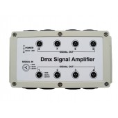 DMX Signal Amplifier 8 Channel Output DMX512 LED Controller Stage Control Station Head Shaking Lamp Splitter Distributor 12-24V
