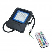 RGB LED Floodlight Reflector Flood light Wall Lamp With Controller