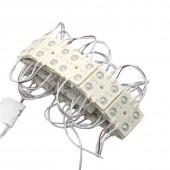 20Pcs SMD 2835 LED Ultrathin Light Module LED Backlight LED Module DC 12V 4 LED