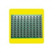 5V 9mm WS2811 Circuit Board PCB With IC Led Pixel Module Light Full Color Spot Light 50pcs lot Free Shipping