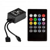 20Keys LED Music IR 12V 6A IR Remote Mini Controller
