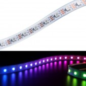 5M 60LEDs WS2812B LED Strip 5050 RGB Waterproof Addressable Stripe