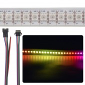 5V LED Strip Ribbon Tape SK982 144 LEDs 5050 RGB Individually Addressable
