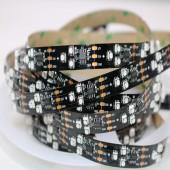 5M 90LEDs/M SM16703 Pixels Programmable Individual LED Strip light 3535 RGB 12V