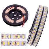 120leds/m SMD 5630 5730 LED Strip Light Flexible 5M 600 LED Tape DC 12V Tape Ribbon Lamp