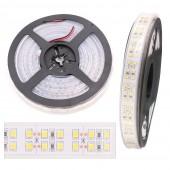 240LEDs/M LED Strip 2835 DC12V 24V 1200Leds Silicone Tube Flexible LED Light Double Row SMD2835 LED Strip 5M/Lot