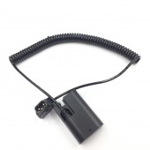 """Lp E6 Dummy Battery To D-Tap Cable For SmallHD 702 Bright 7"""" Full HD On-Camera Monitor"""