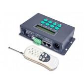 LTECH LT-200 SPI(TTL) Controller 1024px für LED SPI Stripes + Module 540 Programme Timer-Funktion inkl. Fe