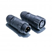 5 Pairs M14 Field Assembly Waterproof Crimp/Military Type Wire Connector