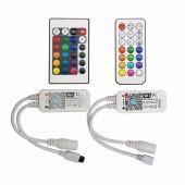 Magic Home Wireless WiFi Controller,RGB/RGBW IR RF LED Controller For WS2811 WS2812B Pixel LED Strip DC5V 12V 24V