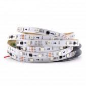 5M WS2811 30LEDs/M 5050 RGB Addressable LED Flexible Strip Light 12V