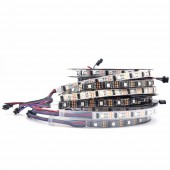 16.4ft 5M WS2801 32LEDS/M 5050 RGB 5V Addressable LED Strip Arduino Light