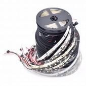 5M WS2811 DC 12V 30/48/60 LEDS/M 10/16/20 Pixels/M Addressable LED Strip
