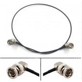 New Lanparte HD SDI Video Cable Male ELbow BNC Extension Cable for BMCC Blackmagic Camera 75Ohm RG179 RF Coaxial Cable Black